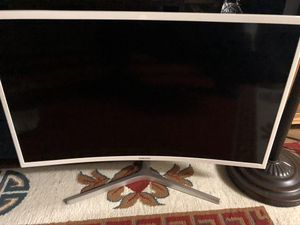 """Samsung 27"""" class curved monitor for Sale in Mountain View, CA"""