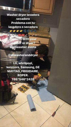 Lavadora y secadora washer and dryer refrigerador for Sale in Miami, FL
