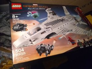 "Legos Spiderman Set #76130 (504 pieces) ""Stark Jet and the Drone Attack"" For Sale Brand New! Only $30! for Sale in Houston, TX"