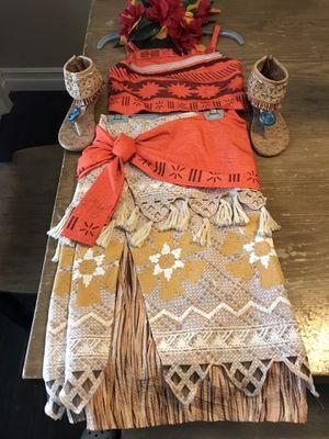 Disney Moana Costume for Sale in Los Nietos, CA
