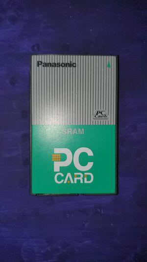 panasonic sram pc card 2mb for Sale in Savannah, GA
