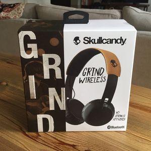 Skullcandy Grind Wireless Bluetooth Headphones for Sale in Salt Lake City, UT