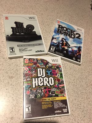 Wii games $8 each for Sale in Las Vegas, NV
