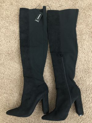 High thigh sock boots express for Sale in Everett, WA