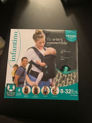 ** Brand New** Infantino 4-in-1 convertible baby carrier for Sale in Washington, DC