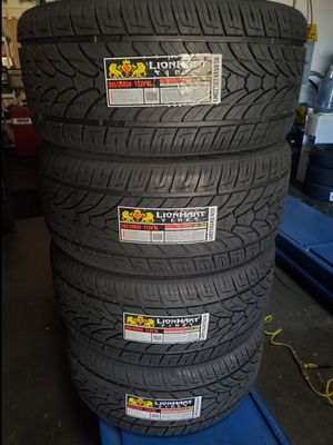 305 35 24 LIONHART TIRES for Sale in Colton, CA