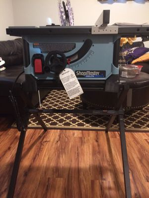 (Brand New) ShopMaster Delta table saw for Sale in Baltimore, MD