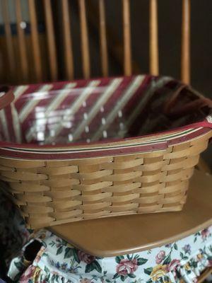 LONGABERGER 2005 Hostess only Garland basket! for Sale in Etna, OH