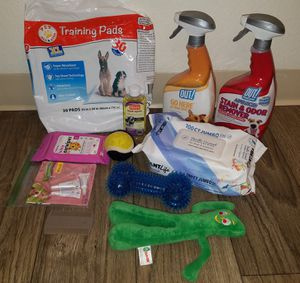 11 Dog & Cat Items - Training Pads, Ear Treatment, Toys, etc. for Sale in Vancouver, WA