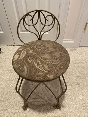 Makeup Stool Chair for Sale in Broomall, PA