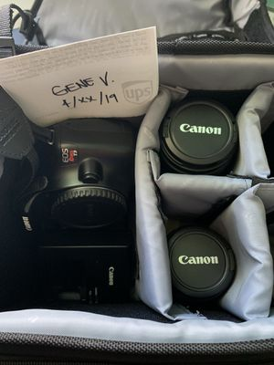 $300 Canon T3 Rebel EOS for Sale in Chula Vista, CA