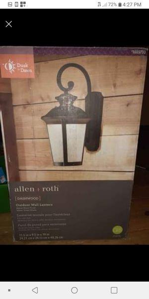 Allen + Roth wall lamp for Sale in Leesburg, VA