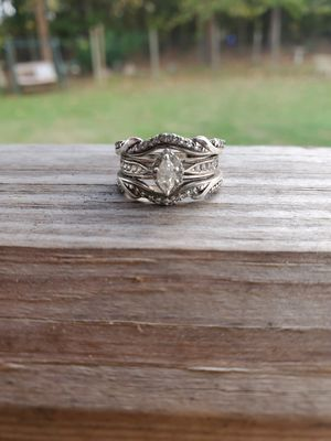 Marquise Cut Real Diamond Wedding Set for Sale in Neeses, SC
