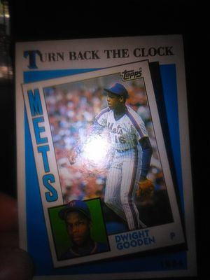 Dwight Gooden Mets 1984 baseball card for Sale in Stockton, CA