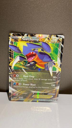 pokemon card garchomp EX for Sale in Potomac, MD