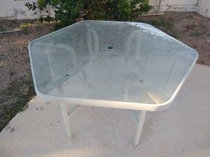 Glass Patio Table | Outdoor Furniture for Sale in Tempe, AZ