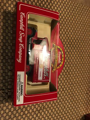 Vintage diecast Campbell Soup truck for Sale in Lewiston, NY