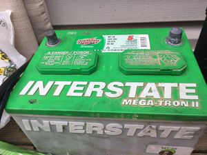 Interstate battery fully charged for Sale in Rockville, MD