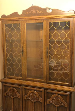 Antique style china cabinet for Sale for sale  Staten Island, NY