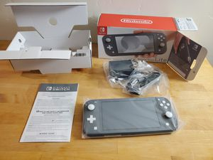 new in box nintendo switch lite gray for Sale in Encinitas, CA