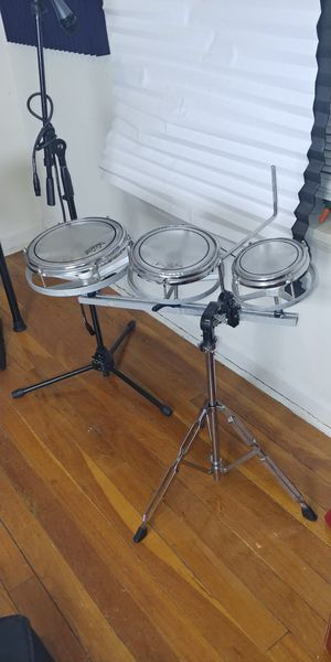 Roto Toms Drum set with stand for Sale in Upper Marlboro, MD