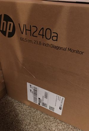 Computer Monitor - HP VH240a for Sale in Hayward, CA