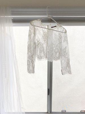 Bolero Wedding Dress Topper - $100 for Sale in Irvine, CA