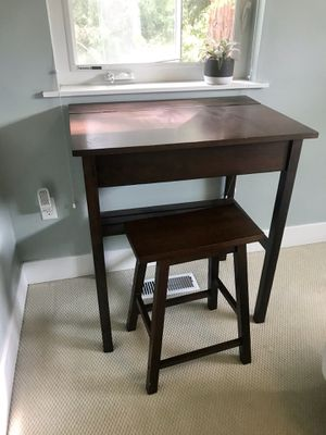 Study desk set, perfect for small spaces! for Sale in Portland, OR