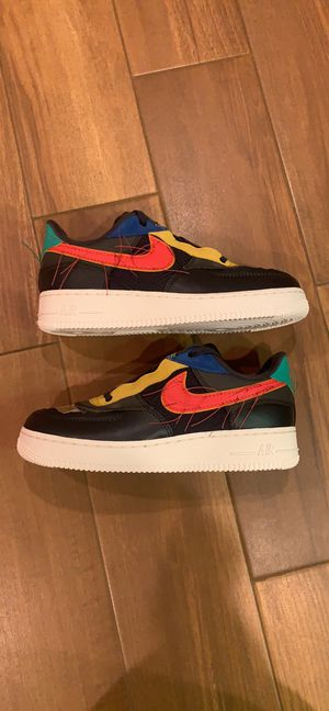 """Air Force 1 """"BHM"""" 2020, Size 8.5 Men's for Sale in Daly City, CA"""