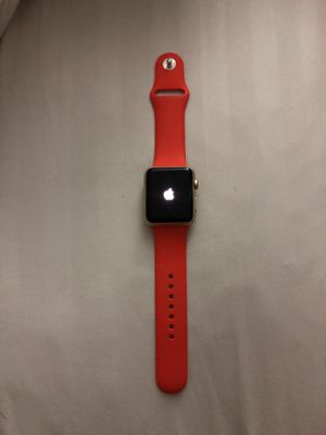 Apple Watch Series 1, 42mm Gold Aluminum Case for Sale in Miami, FL