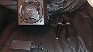 Bluetooth karaoke machine with 2 wireless microphones for Sale in La Vergne, TN
