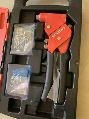 Brand new arrow fastener hand held swivel rivet kit for Sale in Plant City, FL