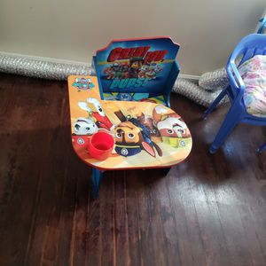 Paw Patrole School Chair for Sale in Nashua, NH