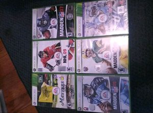 6 XBOX 360 games for Sale in Revere, MA