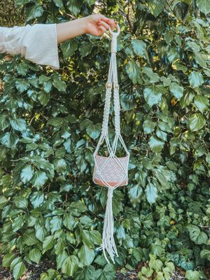 Macrame plant hanger for Sale in Tracy, CA