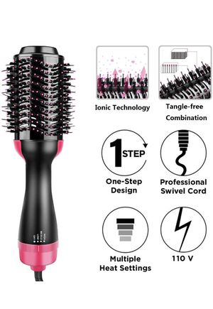 One Step 2 in 1 Hair Dryer Styler and Volumizer, Hot Air Straightener for Sale in Miami, FL