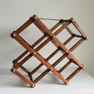 Vintage Teak Wine Rack / Magazine Holder for Sale in VLG WELLINGTN, FL