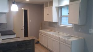 Kitchen cabinets--and customcountertops for Sale in San Antonio, TX