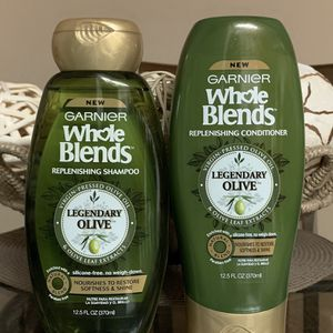 Garnier Whole Blends Shampoo and Conditioner for Sale in Las Vegas, NV