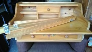 Knotted Pine small desk for Sale in Jacksonville, FL