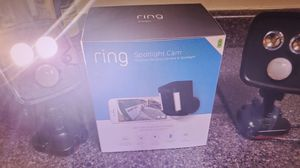 Ring motion light and 2 floods for Sale in Laurel, MD