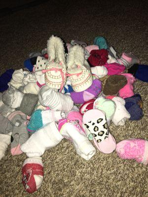 Babygirl sock lot for Sale in Phoenix, AZ