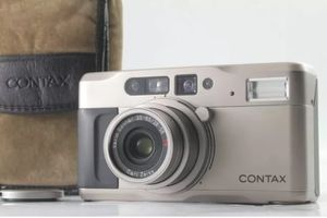 Contax TVS Carl Zeiss Lens Rare MINT Condition 35mm Film point and shoot camera for Sale in Cerritos, CA