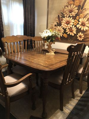 Dining/Kitchen table + 6 chairs for Sale in Pittsburgh, PA