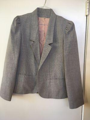 Medium gray blazer for Sale in Orange, CA