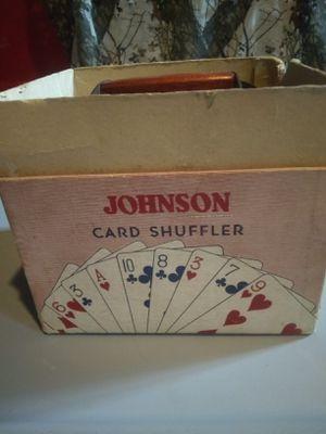 Johnson card shuffler for Sale in Depew, NY