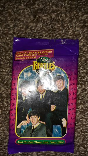 10 pack of Beatles cards for Sale in Quincy, IL