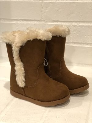 NEW Toddler Girls Katrina Shearling Boots Cat & Jack Size 8 for Sale in Beaverton, OR