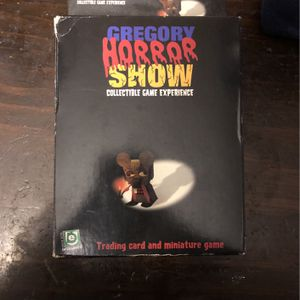 OOP Card/miniature Game Gregory Horror Show for Sale in Brandon, FL