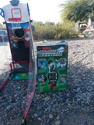 ESPN kids games basketball and football for Sale in Litchfield Park, AZ